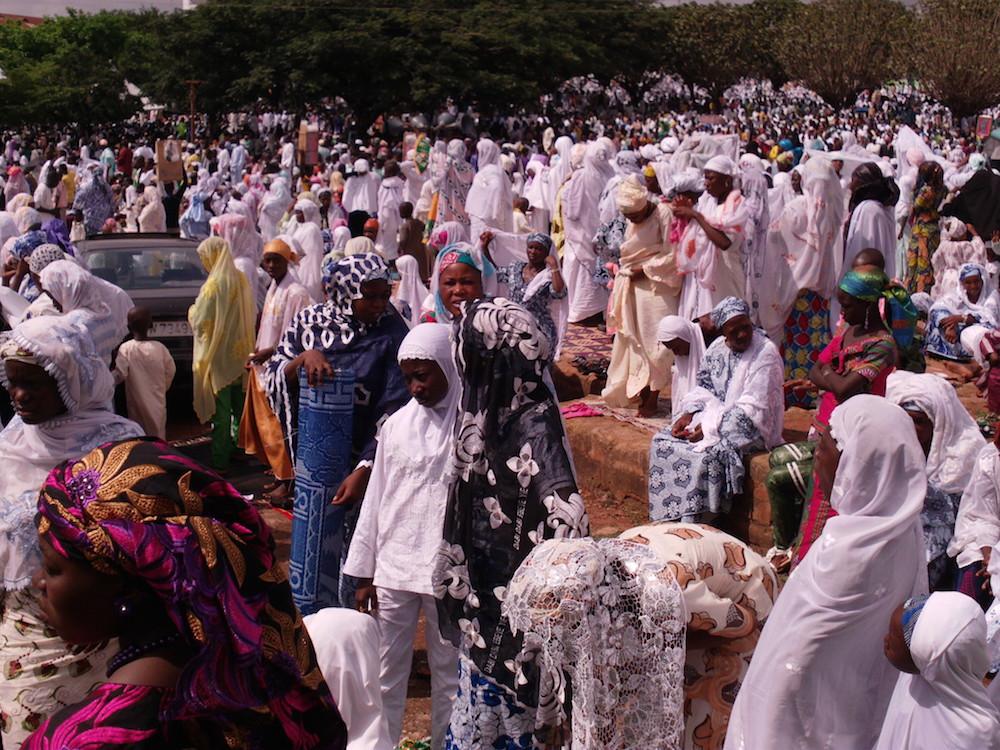 Crowd of Women