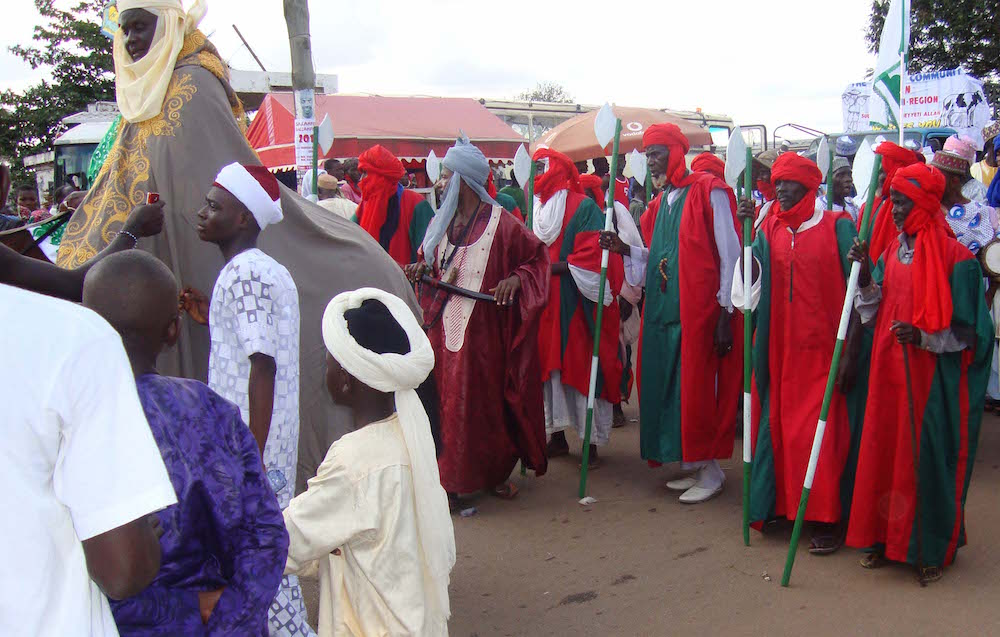 Bodyguards of the Zongo Chief