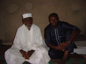 Photo of El Hadj Cheikh Bécaye Coulibaly and Hady Sow