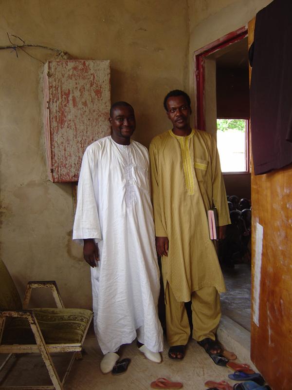 Photo of Alioune Makhtar Kounta and Daara Teacher
