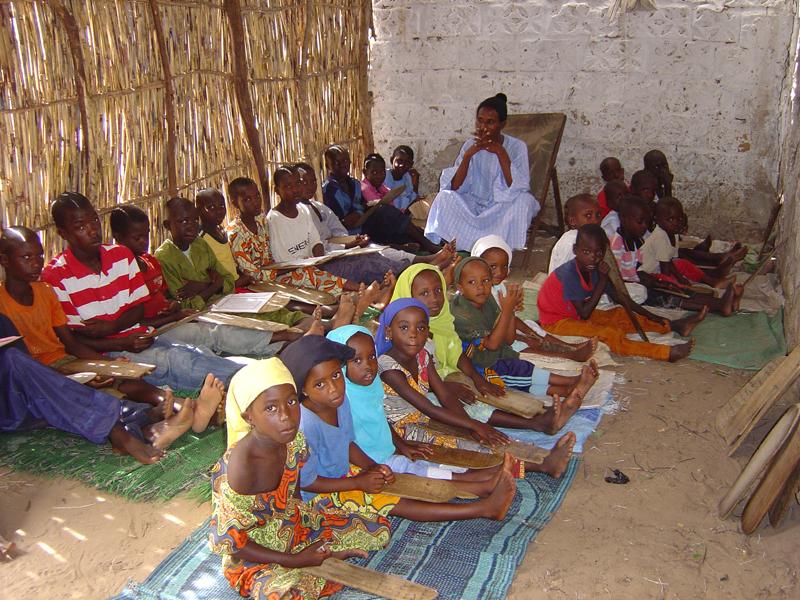 Photo of children in a daara
