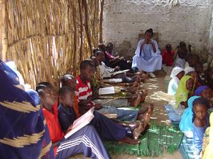 Photo of children in a daara 2