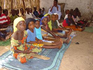 Photo of children in a daara 3