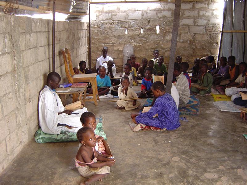 Photo of children in a daara 5