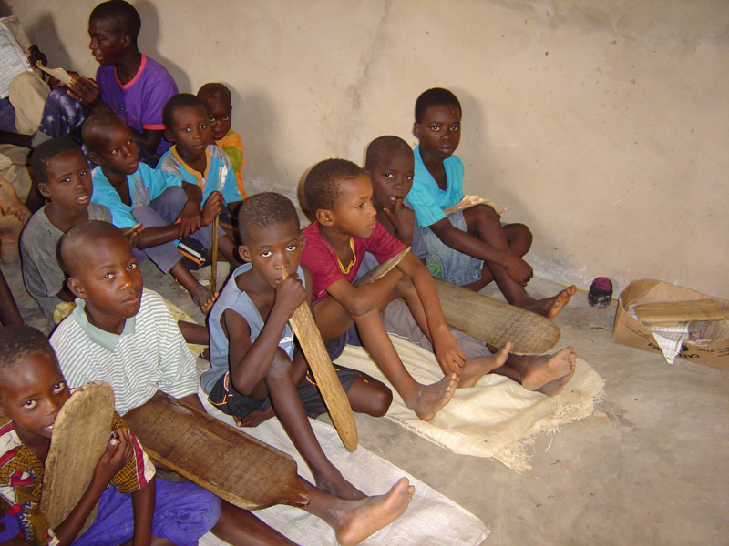 Photo of children in a daara 7