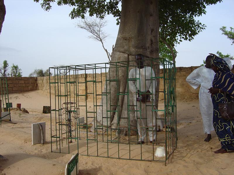 Photo of Cheikh Bounama Kounta's grave, Ndankh