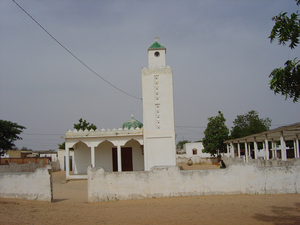 Photo of the mosque in Ndankh