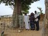 Group photo at the grave of Cheikh Bounama Kounta, father of Cheikh Bou Kounta, Ndankh