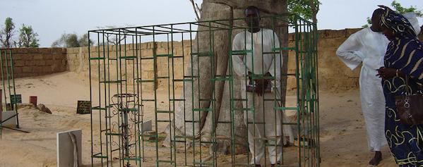 Burial place of Cheikh Bounama Kounta, father of Bou Kounta, in Ndankh Cemetery.