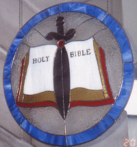 Holy Bible and Sword