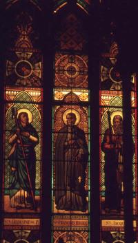 Ste. Germaine de Pre, St. Francois Regis, and St. Jacques