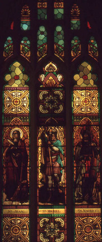 St. Jean, St. Michel, and St. Maurice