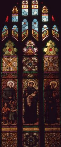 St. Joseph de C., St. Vincent de Paul, and St. Jean de D.