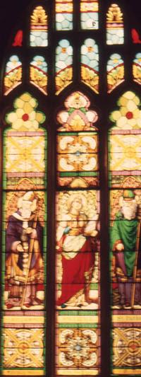 St. Patrick, Ste. Cecile, and St. Jean L'Aumonier