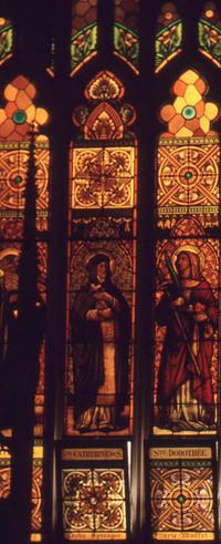 St. Thomas, Ste. Catherine de Siena, and Ste. Dorothee