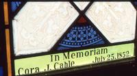 Cable Memorial detail