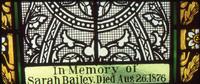 Bailey Memorial detail