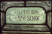 Summer Sunday School Window detail