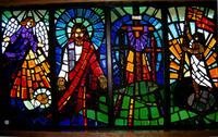 Savior of the world window