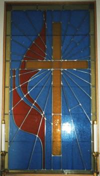 Methodist Flame and Cross