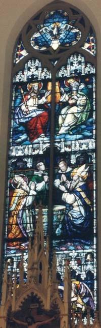 Holy Trinity-Baptism-Praising Angels