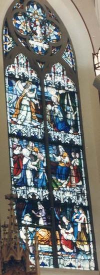 Annunciation-Presentation of Mary-Birth of Mary