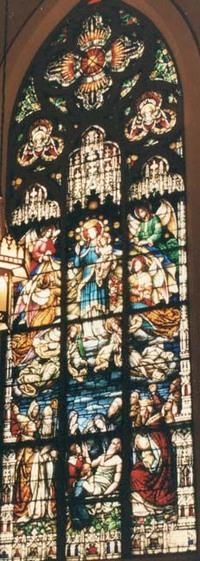 Mary holding Jesus-Death of Joseph