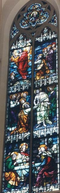 Ascension-Jesus with Doubting Thomas-Jesus with Emmaus Men