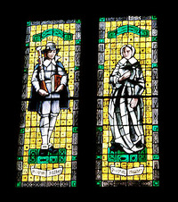 Pilgrim Father and Mother Window