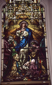 Immaculate Conception close-up