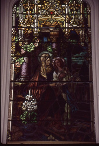 Blessed Mother and Saint Anne close-up