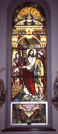 Jesus at the Centurion's Home