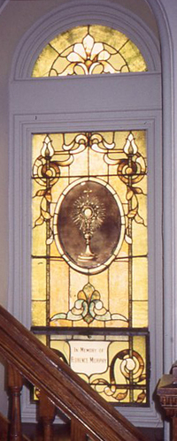 The Monstance with the Blessed Sacrament