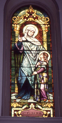 Saint Anne and Child Mary