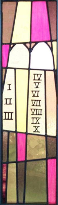 Commandment Tablets
