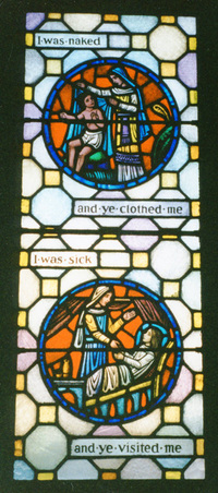Acts of Mercy-Clothing and Visit
