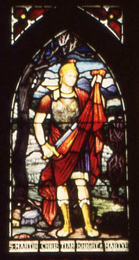 St. Martin Christian Knight and Martyr