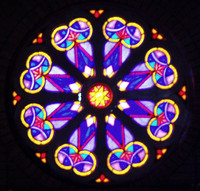 South Rose Window