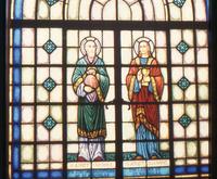 St. Jacob and St. John close-up