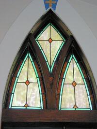 Non-pictorial door transome light