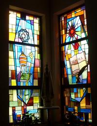 Saint Catherine and Saint Thomas Acquinas