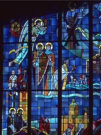 St. Andrew blesses the hills