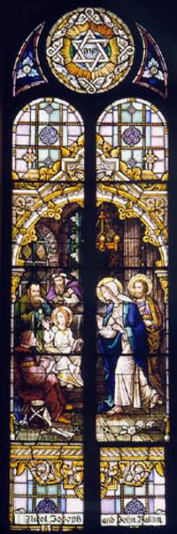 Boy Jesus in the Temple