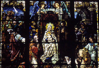 Nativity Window close up