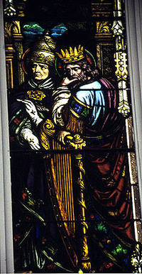 Pope Gregory and King David