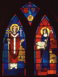 St. Thomas of Canterbury and St. Hilda of Whitby