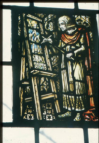 Medieval Stained Glass Painter