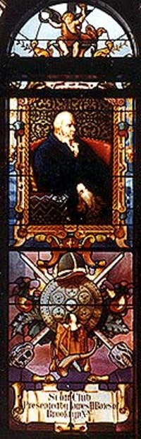 Sir Walter Scott close-up