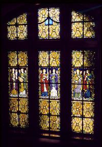Hazel Hill Hunt memorial windows