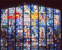 Great West Window: History of the Catholic Church